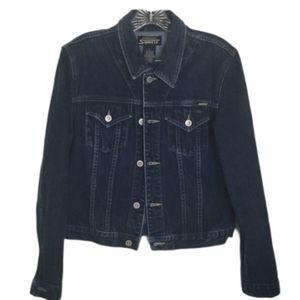 Stephen Hardy Squeeze Denim Jean jacket Large
